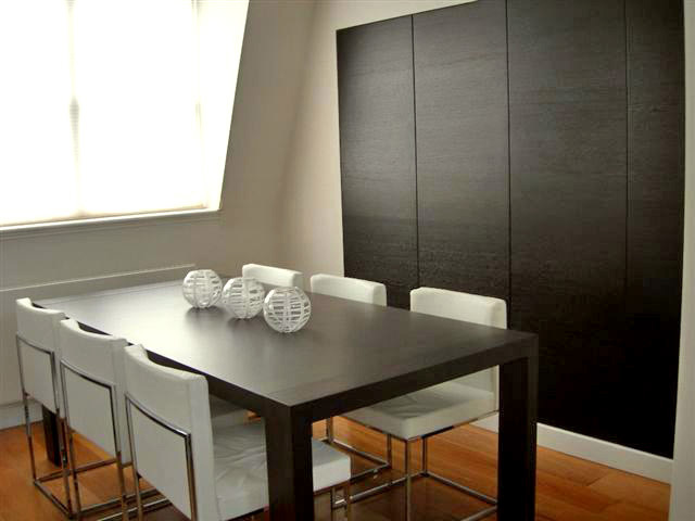 A 2-bed apartment in Bayswater  Dining area  Anna Hansson Design Ltd