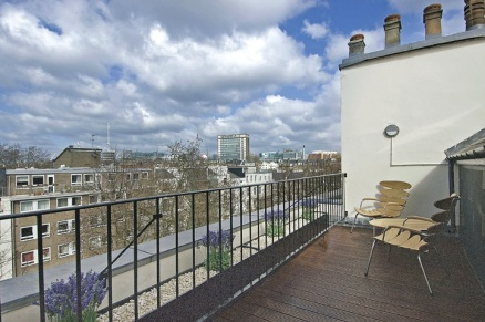 A 2-bed apartment in Bayswater - Patio - ©Anna Hansson Design Ltd