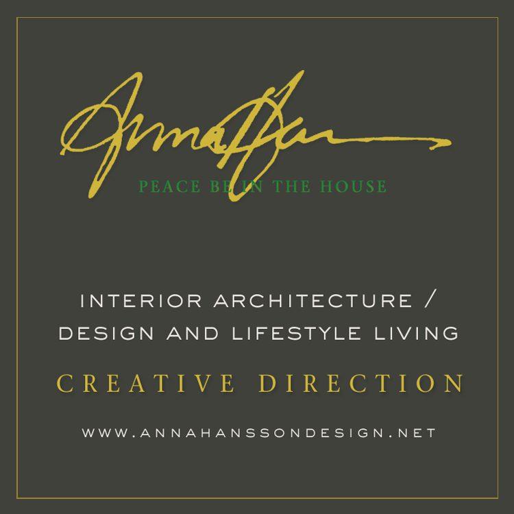 ANNA HANSSON DESIGN. Interior Design ...