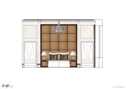 ©Anna Hansson Design_work-in-progress_bedroom-elevation